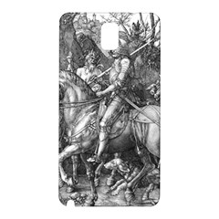 Death And The Devil   Albrecht D¨1rer Samsung Galaxy Note 3 N9005 Hardshell Back Case