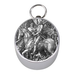 Death And The Devil   Albrecht D¨1rer Mini Silver Compasses