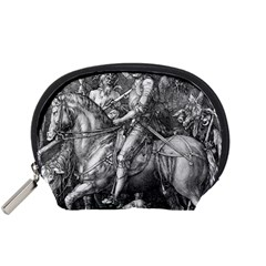 Death And The Devil   Albrecht D¨1rer Accessory Pouches (small)