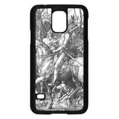 Death And The Devil   Albrecht D¨1rer Samsung Galaxy S5 Case (black)