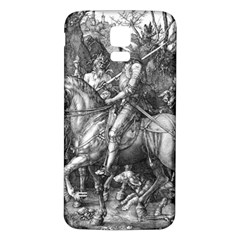 Death And The Devil   Albrecht D¨1rer Samsung Galaxy S5 Back Case (white)
