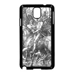 Death And The Devil   Albrecht Dürer Samsung Galaxy Note 3 Neo Hardshell Case (black) by Valentinaart