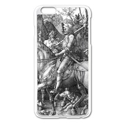 Death And The Devil   Albrecht D¨1rer Apple Iphone 6 Plus/6s Plus Enamel White Case