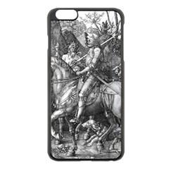 Death And The Devil   Albrecht D¨1rer Apple Iphone 6 Plus/6s Plus Black Enamel Case