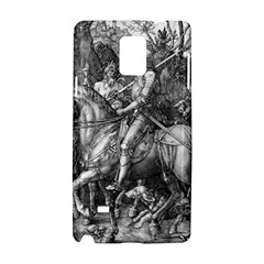 Death And The Devil   Albrecht D¨1rer Samsung Galaxy Note 4 Hardshell Case