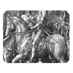 Death And The Devil   Albrecht D¨1rer Double Sided Flano Blanket (large)