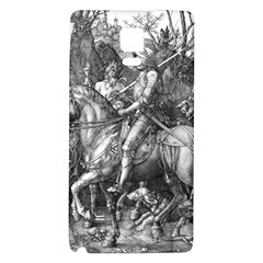 Death And The Devil   Albrecht D¨1rer Galaxy Note 4 Back Case
