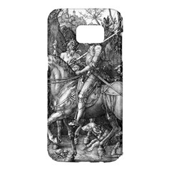 Death And The Devil   Albrecht D¨1rer Samsung Galaxy S7 Edge Hardshell Case