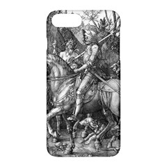 Death And The Devil   Albrecht D¨1rer Apple Iphone 7 Plus Hardshell Case