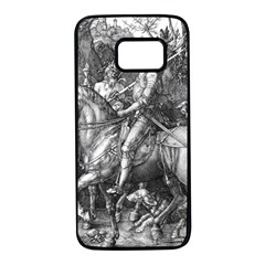 Death And The Devil   Albrecht D¨1rer Samsung Galaxy S7 Black Seamless Case