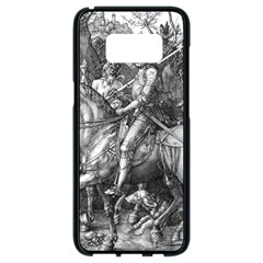 Death And The Devil   Albrecht D¨1rer Samsung Galaxy S8 Black Seamless Case