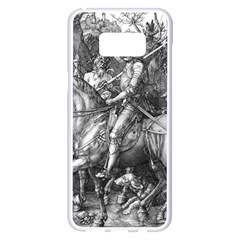 Death And The Devil   Albrecht D¨1rer Samsung Galaxy S8 Plus White Seamless Case