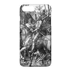Death And The Devil   Albrecht D¨1rer Apple Iphone 8 Plus Hardshell Case