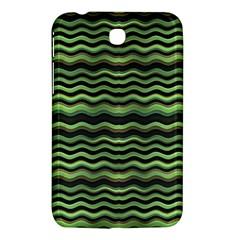 Modern Wavy Stripes Pattern Samsung Galaxy Tab 3 (7 ) P3200 Hardshell Case