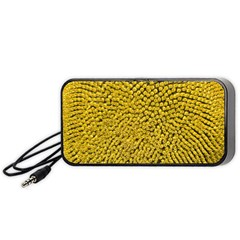 Sunflower Head (helianthus Annuus) Hungary Felsotold Portable Speaker