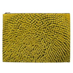 Sunflower Head (helianthus Annuus) Hungary Felsotold Cosmetic Bag (xxl)