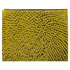 Sunflower Head (helianthus Annuus) Hungary Felsotold Cosmetic Bag (xxxl)