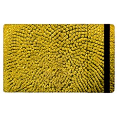 Sunflower Head (helianthus Annuus) Hungary Felsotold Apple Ipad 2 Flip Case