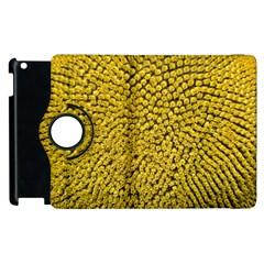 Sunflower Head (helianthus Annuus) Hungary Felsotold Apple Ipad 2 Flip 360 Case