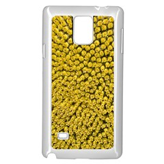 Sunflower Head (helianthus Annuus) Hungary Felsotold Samsung Galaxy Note 4 Case (white)