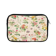 Vintage Flowers Wallpaper Pattern Apple Ipad Mini Zipper Cases