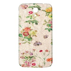 Vintage Flowers Wallpaper Pattern Samsung Galaxy Mega I9200 Hardshell Back Case