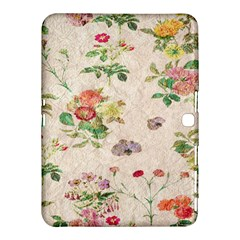 Vintage Flowers Wallpaper Pattern Samsung Galaxy Tab 4 (10 1 ) Hardshell Case