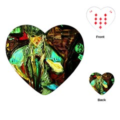 Texas Girl Playing Cards (heart)