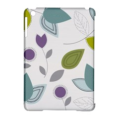 Leaves Flowers Abstract Apple Ipad Mini Hardshell Case (compatible With Smart Cover)