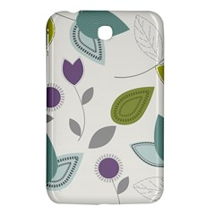 Leaves Flowers Abstract Samsung Galaxy Tab 3 (7 ) P3200 Hardshell Case