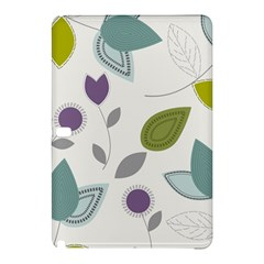 Leaves Flowers Abstract Samsung Galaxy Tab Pro 12 2 Hardshell Case