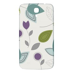Leaves Flowers Abstract Samsung Galaxy Mega I9200 Hardshell Back Case