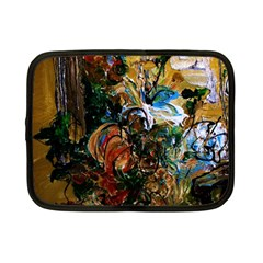Flowers And Mirror Netbook Case (small)