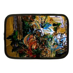 Flowers And Mirror Netbook Case (medium)