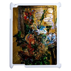 Flowers And Mirror Apple Ipad 2 Case (white)