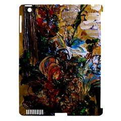 Flowers And Mirror Apple Ipad 3/4 Hardshell Case (compatible With Smart Cover)