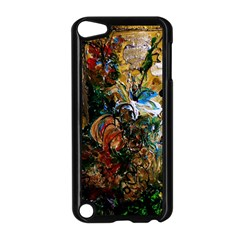 Flowers And Mirror Apple Ipod Touch 5 Case (black)