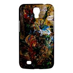 Flowers And Mirror Samsung Galaxy Mega 6 3  I9200 Hardshell Case