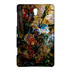 Flowers And Mirror Samsung Galaxy Tab S (8 4 ) Hardshell Case