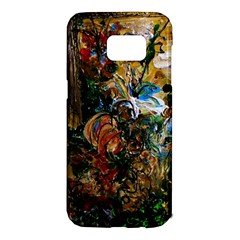 Flowers And Mirror Samsung Galaxy S7 Edge Hardshell Case