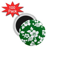 Hibiscus Flower 1 75  Magnets (100 Pack)
