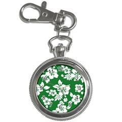 Hibiscus Flower Key Chain Watches