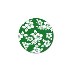 Hibiscus Flower Golf Ball Marker (4 Pack)