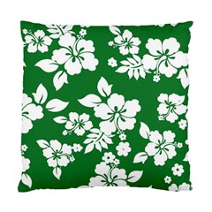 Hibiscus Flower Standard Cushion Case (one Side)