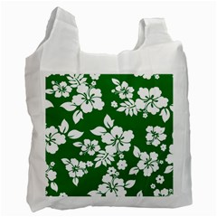 Hibiscus Flower Recycle Bag (one Side)