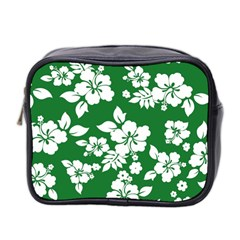 Hibiscus Flower Mini Toiletries Bag 2 Side