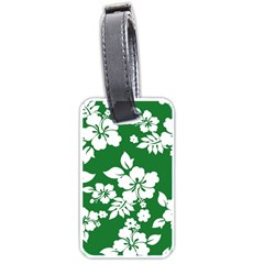 Hibiscus Flower Luggage Tags (one Side)  by goodart