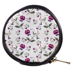 Floral Wallpaper Pattern Seamless Mini Makeup Bags
