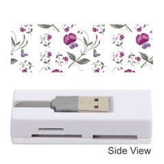 Floral Wallpaper Pattern Seamless Memory Card Reader (stick)