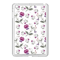 Floral Wallpaper Pattern Seamless Apple Ipad Mini Case (white)